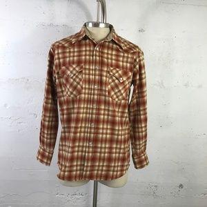 Pendleton Men's Canyon Fit 100% Virgin Wool Wester